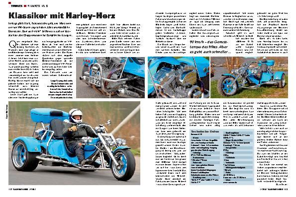 Klassiker mit Harley-Herz