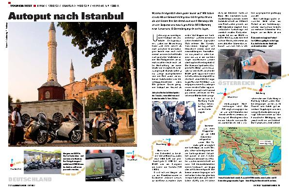 Autoput nach Istanbul