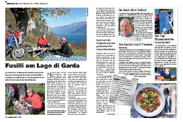 Fusilli am Lago di Garda