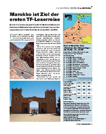 TF-Leserreise Marokko