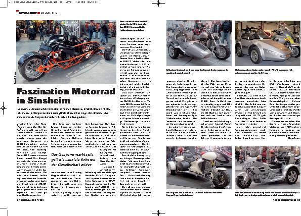 Faszination Motorrad in Sinsheim