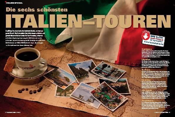 Die sechs schönsten Italien-Touren