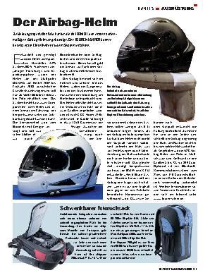 Der Airbag-Helm
