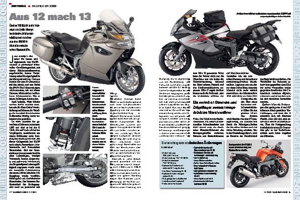 Aus 12 mach 13 - BMW-K-Modelle