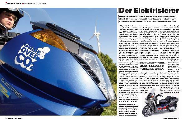 Der Elektrisierer - Vectrix Maxi-Scooter