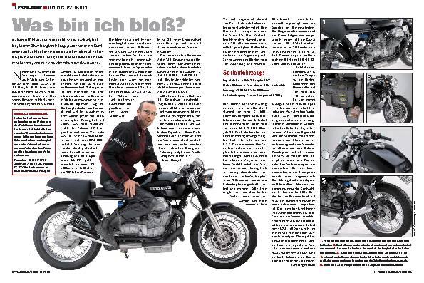 Leser-Bike - Moto Guzzi 850 T3