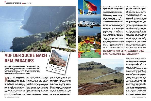 Madeira - Auf der Suche nach dem Paradies