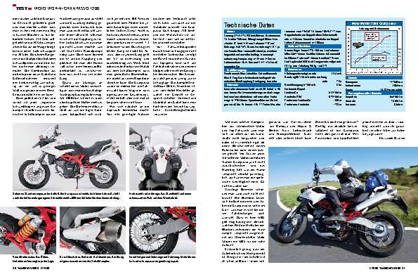 Moto Morini Granpasso 1200 - Nummer fünf lebt