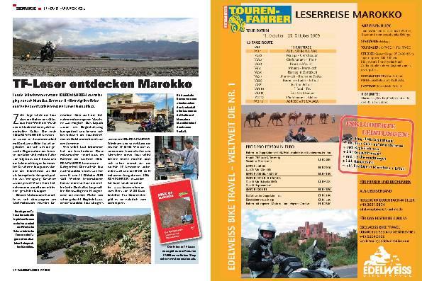 TF-Leser entdecken Marokko
