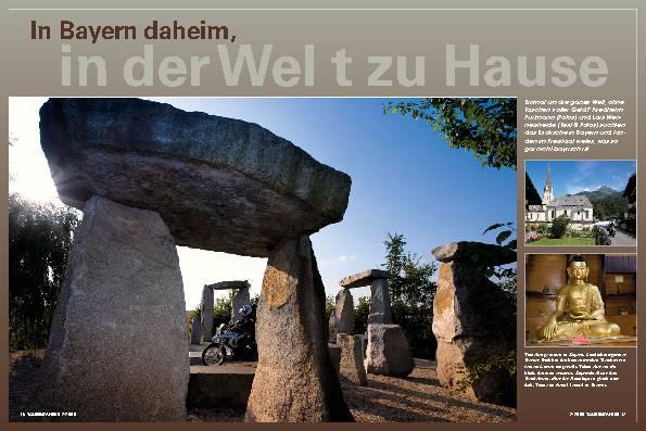 In Bayern daheim, in der Welt zu Hause