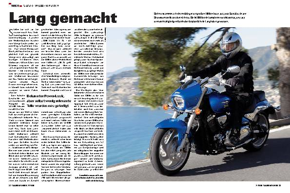Test - Suzuki M1500 Intruder