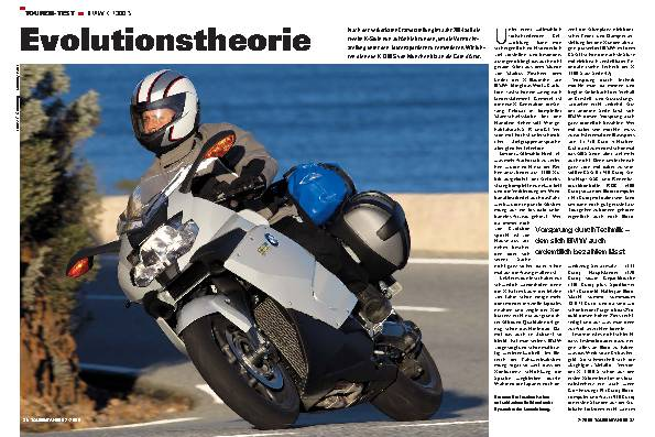 Touren-Test BMW K 1300 S