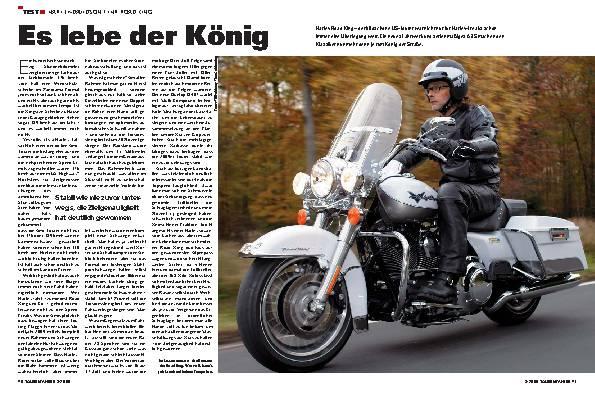 Harley-Davidson Road King - Es lebe der König