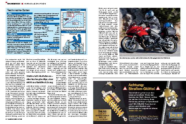 Tourentest - Yamaha XJ6 Diversion