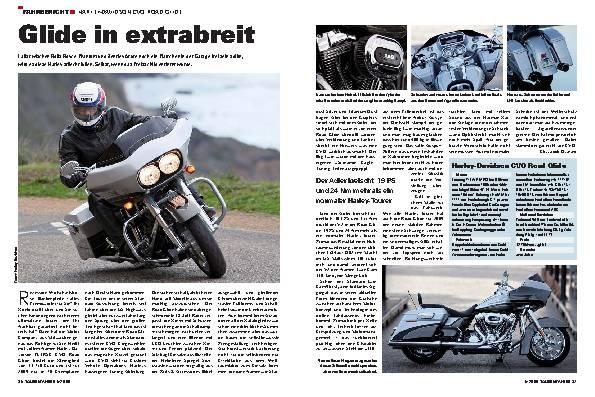 Fahrbericht - Harley-Davidson CVO Road Glide