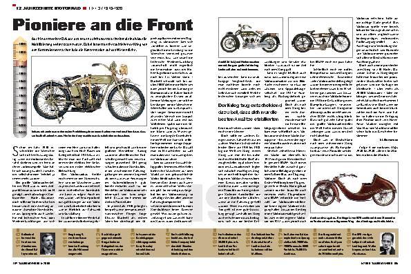 12 Jahrzehnte Motorrad - Teil 3 / 1910-1920