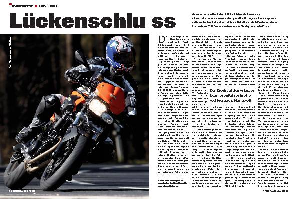 Tourentest - BMW F 800 R