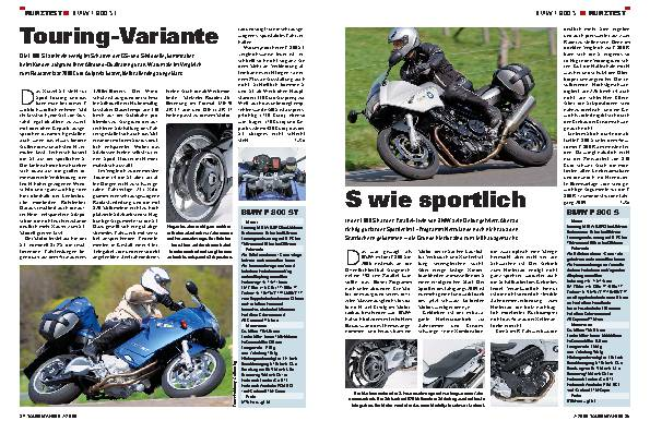 Kurztest - BMW F 800 ST