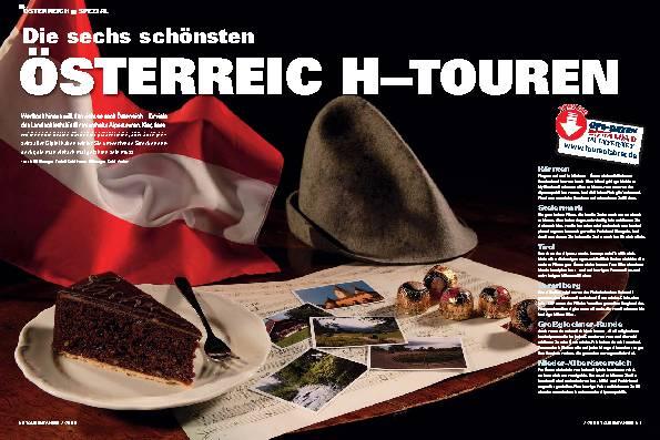 Österreich-Spezial - Die sechs schönsten Österreich-Touren
