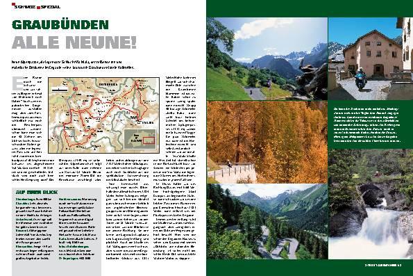 Schweiz-Spezial - Die fünf schönsten Schweiz-Touren