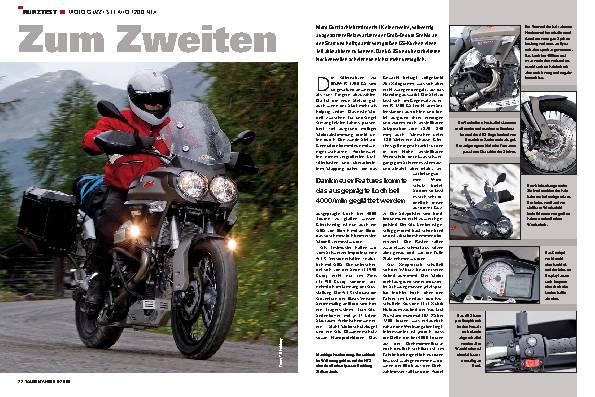 Kurztest - Moto Guzzi Stelvio 1200 NTX