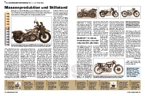 12 Jahrzehnte Motorrad - TEIL 6 / 1940-1950