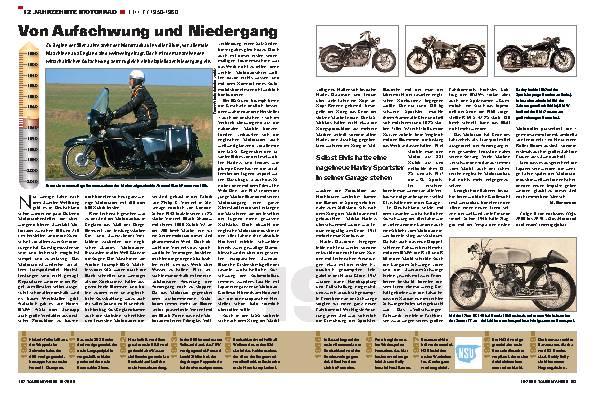 12 Jahrzehnte Motorrad - TEIL 7 / 1950-1960