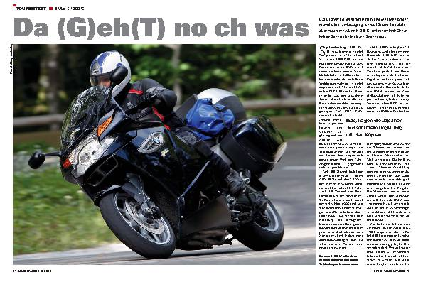 Tourentest - BMW K 1300 GT