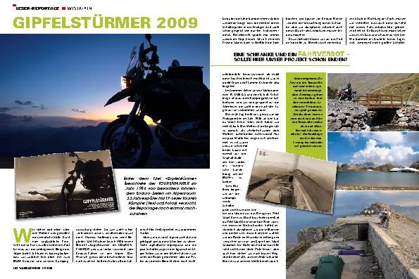 Leser-Reportage - Westalpen