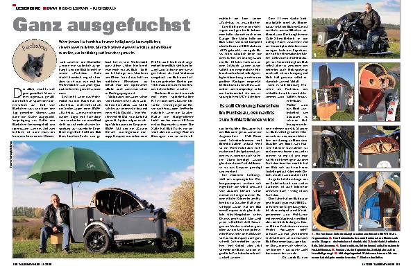 Leserbike - BMW R 60-Gespann »Fuchsbau«