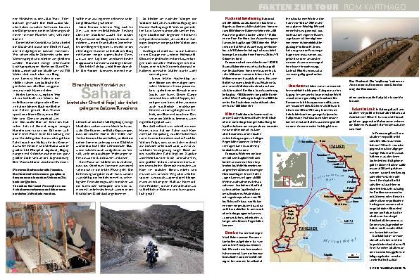Leserreise von Rom über Sizilien nach Karthago