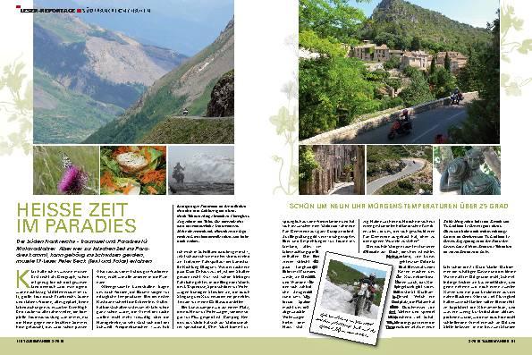 Leser-Reportage - Südfrankreich/Italien