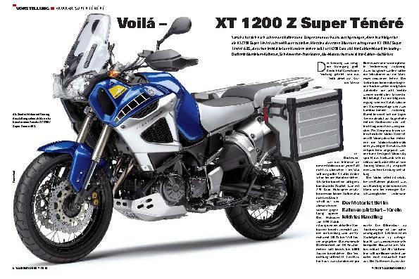 Vorstellung - Yamaha XT 1200 Z Super-Ténéré ABS