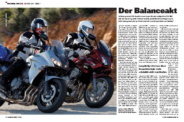 Touren-Test - Honda CBF 1000 F