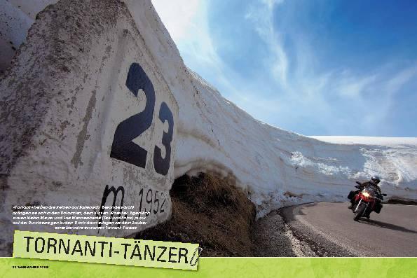 Dolomiten - Tornanti-Tänzer