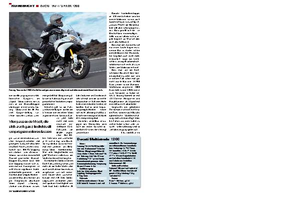 Fahrbericht - Ducati Multistrada 1200