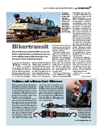 Transport - Bikertransit & Transportgurte