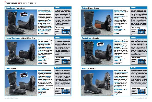 Ausrüstung - Soft-Enduro-Stiefel