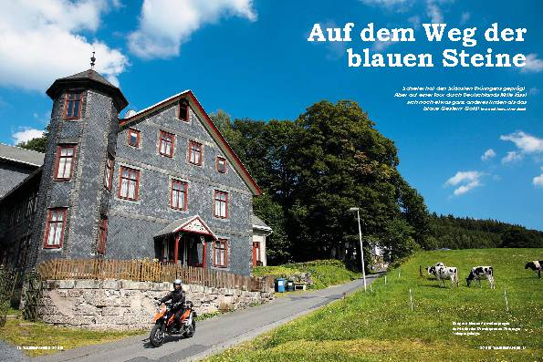 Thüringen - Auf dem Weg der blauen Steine