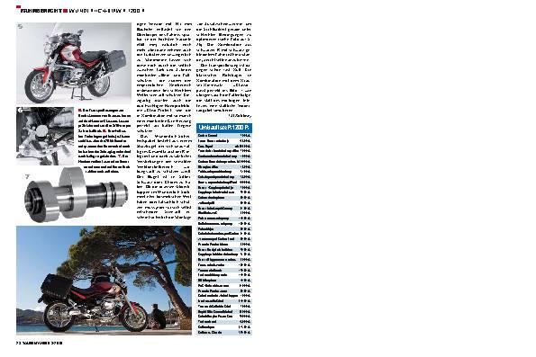 Fahrbericht - Wunderlich-BMW R 1200 R