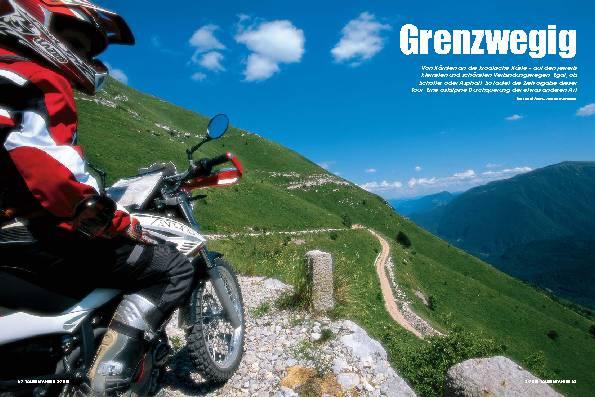 Von Kärnten nach Kroatien - Grenzwegig