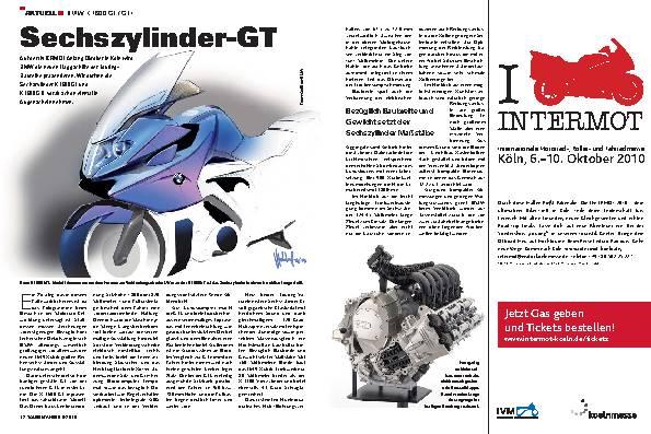 Aktuell - BMW K 1600 GT / GTL
