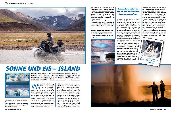 Leser-Reportage - Island
