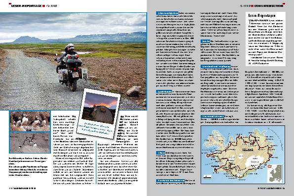 Leser-Reportage - Island