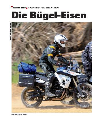 Touren-Test - BMW F 800 / KTM 900 ADVENTURE