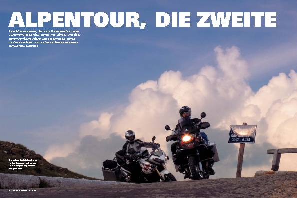 Alpentour, die zweite