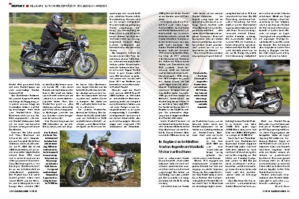 Report - 40 Jahre Serienmotorräder mit Wankel-Motor