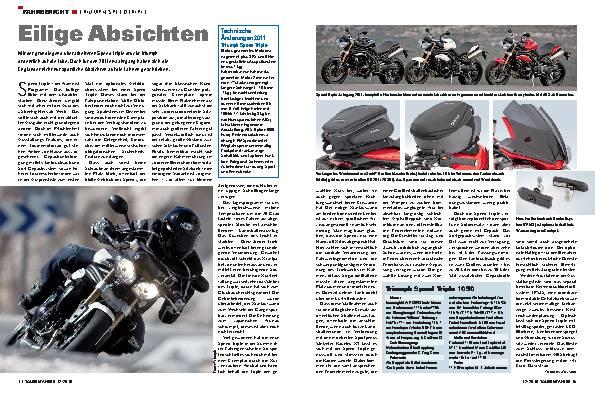 Fahrbericht - Triumph Speed Triple