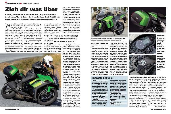 Fahrbericht - Kawasaki Z 1000 SX