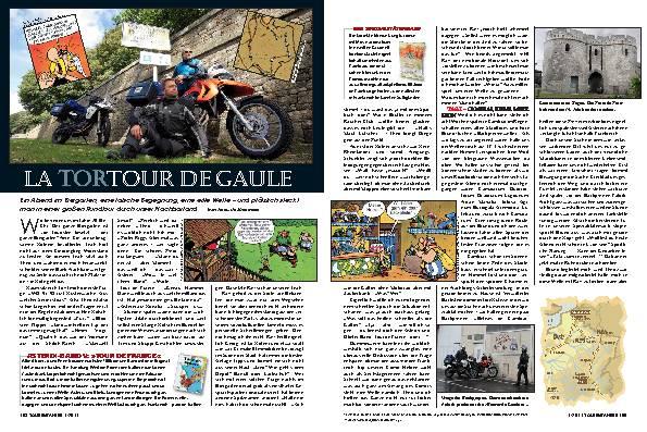 Frankreich - La Tortour de Gaule